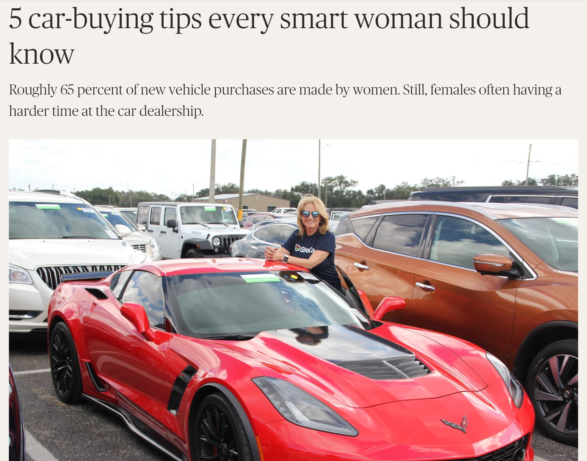 SheCar® She.E.O. featured on NBCNews.com
